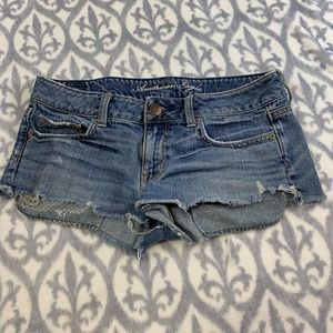 American Eagle outfitters crop shorts